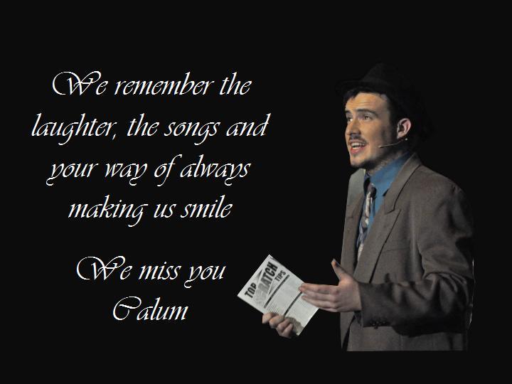 Remembering Calum