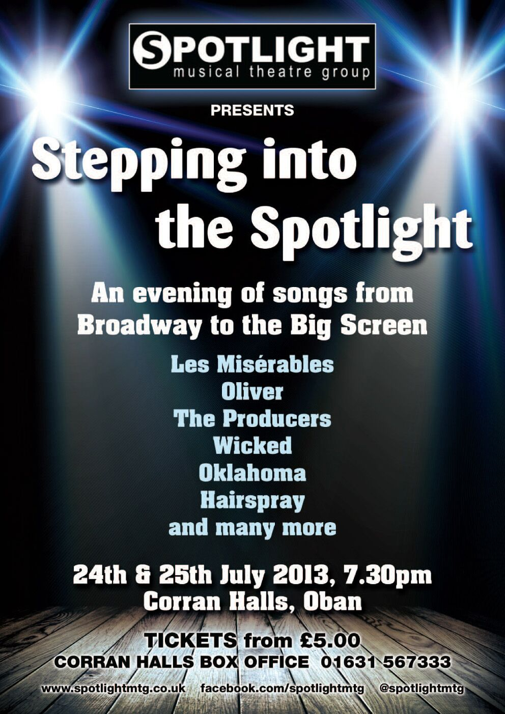 Stepping Into: Stepping Into Spotlight Poster