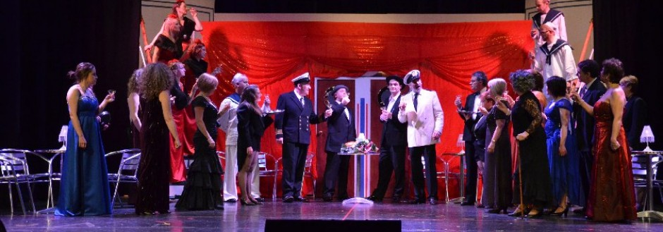New Back Stage photos to Enjoy of Anything Goes