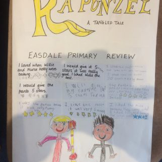 A review of Rapunzel – By Easdale Primary