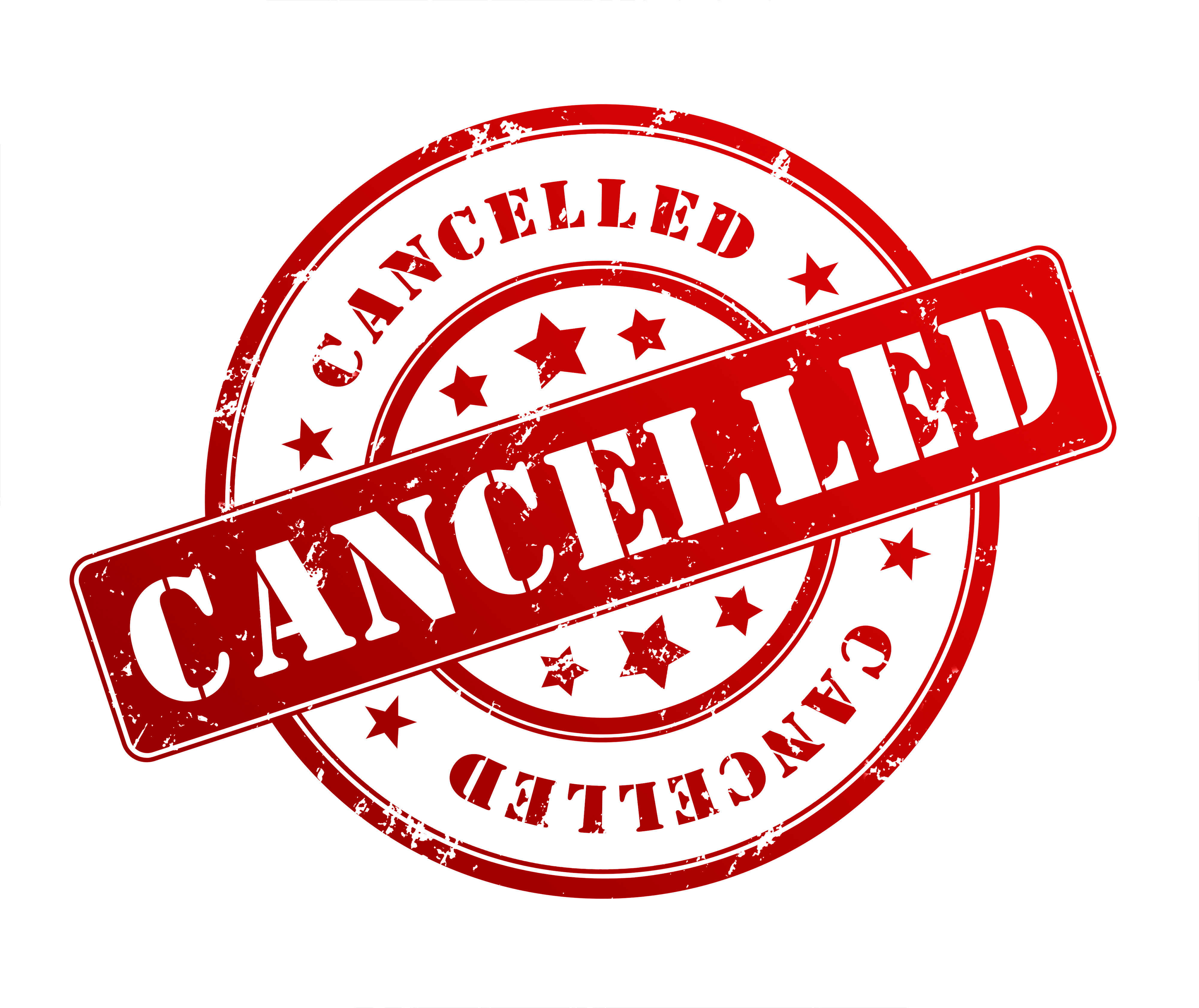 EGM – cancelled